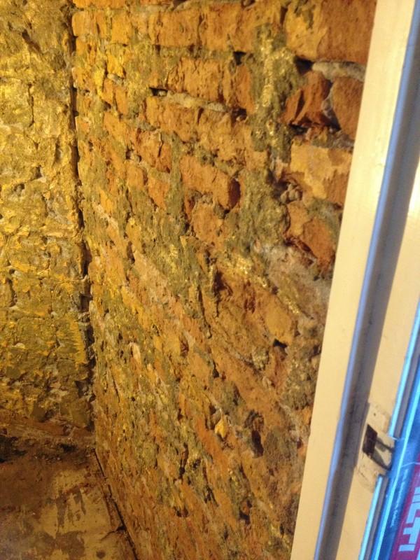 badkamer muur voor stucadoor